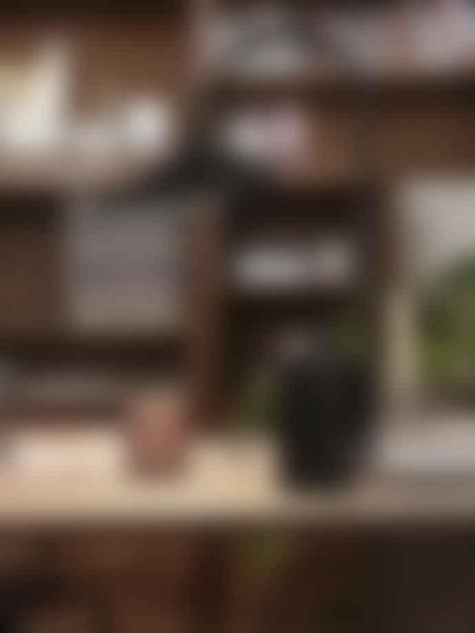 Ferm Living Black Arum Table Lamp