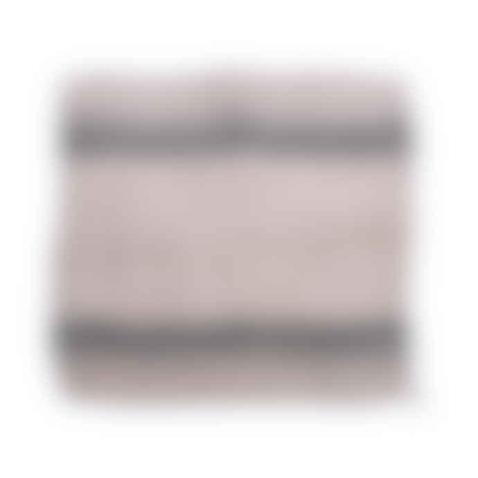 HKliving Natural Striped Linen Napkin Set of 2
