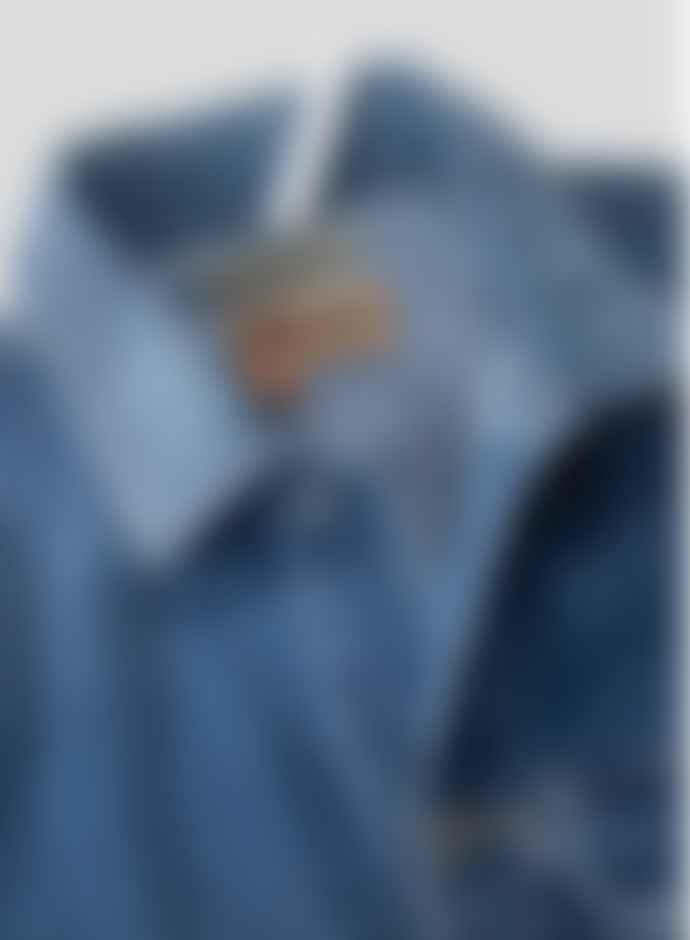 Nigel Cabourn Blue Denim Unisex Hip Jacket