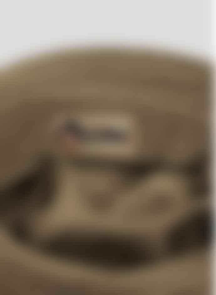 Nigel Cabourn Tan Globe Bucket Hat