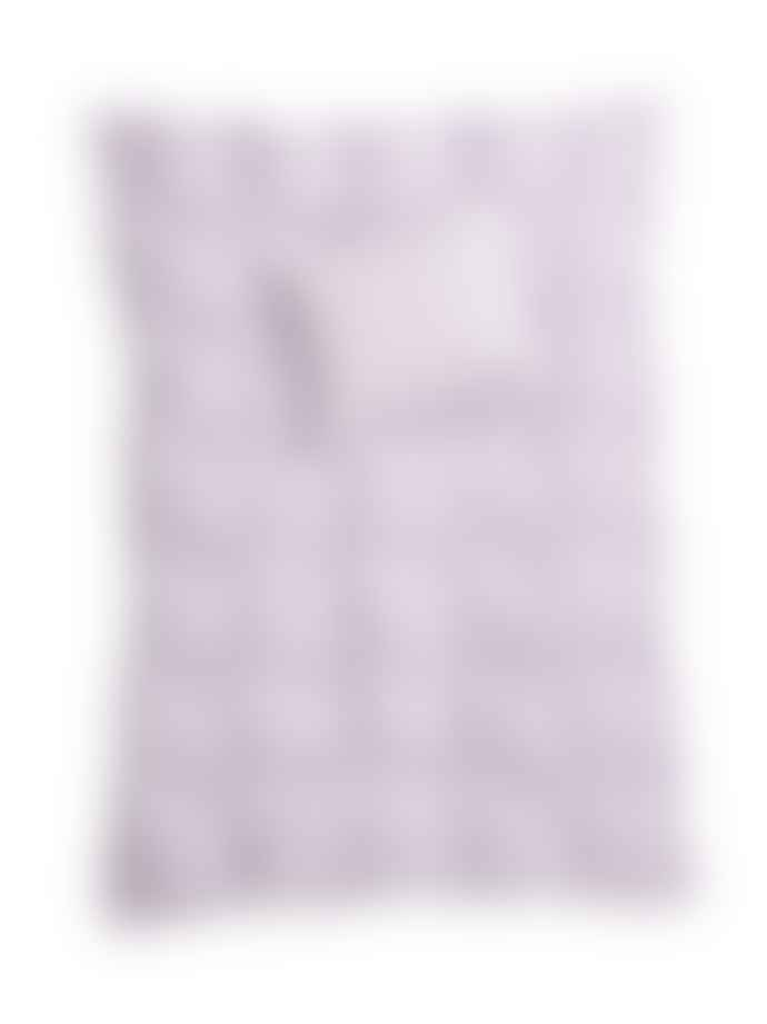 AB Småland 220x230cm Lilac Organic Cotton Crinkle Duvet Cover Set