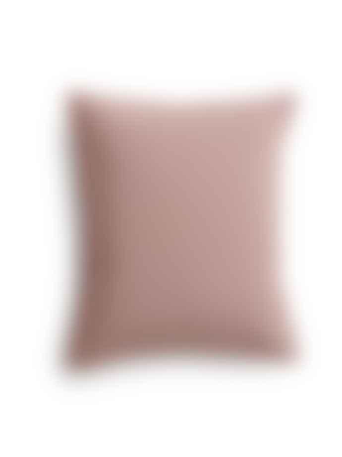 AB Småland 50 x 60 cm Rose Taupe Organic Cotton Crinkle Pillowcase