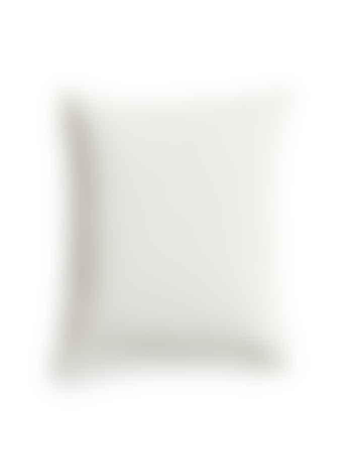 AB Småland 50 x 60 cm Off White Organic Cotton Crinkle Pillowcase