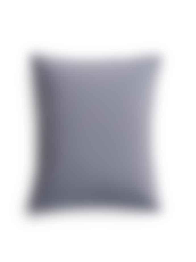 AB Småland 50 x 60 cm Dusty Blue Organic Cotton Crinkle Pillowcase