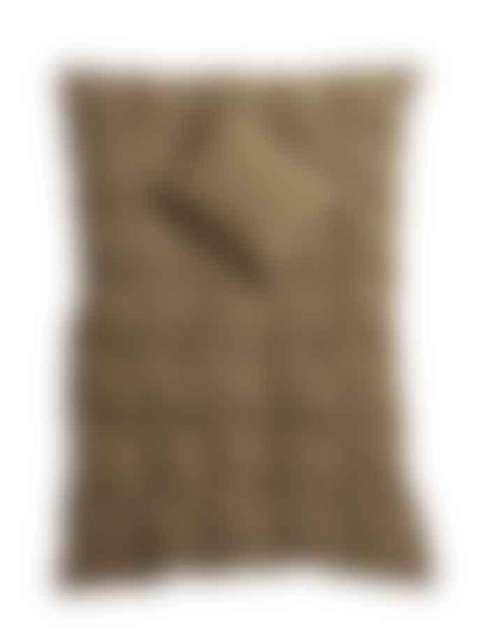 AB Småland 230 x 220 cm Nougat Organic Cotton Double Crinkle Duvet Cover Set