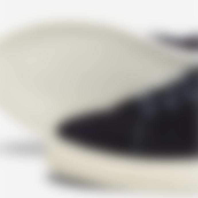 Selected Homme David Suede Leather Trainers - Dark Navy