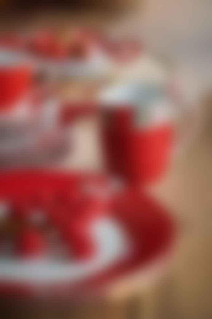 Pip Studio Set of 2 Small Red Blushing Birds Mugs