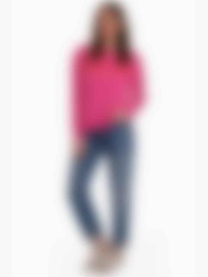 LULU'S LOVE Pink Weekend Cashmere Jumper