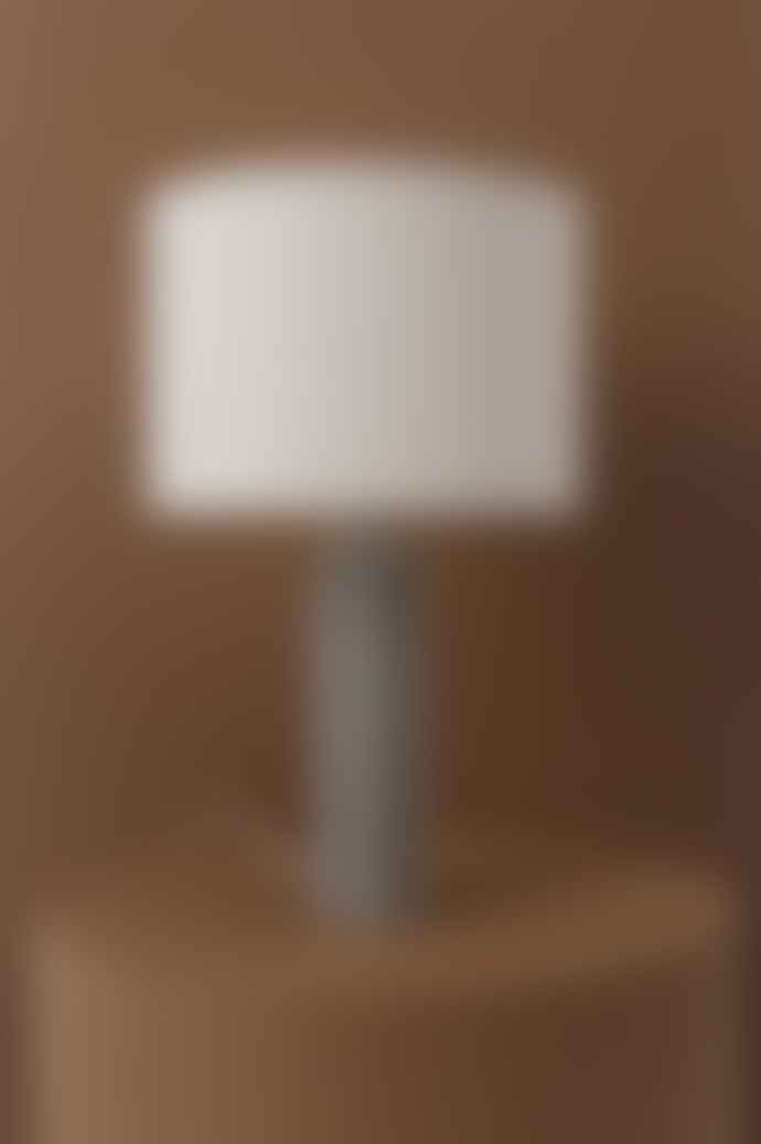 OYOY Toppu Lamp In Off White And Anthracite
