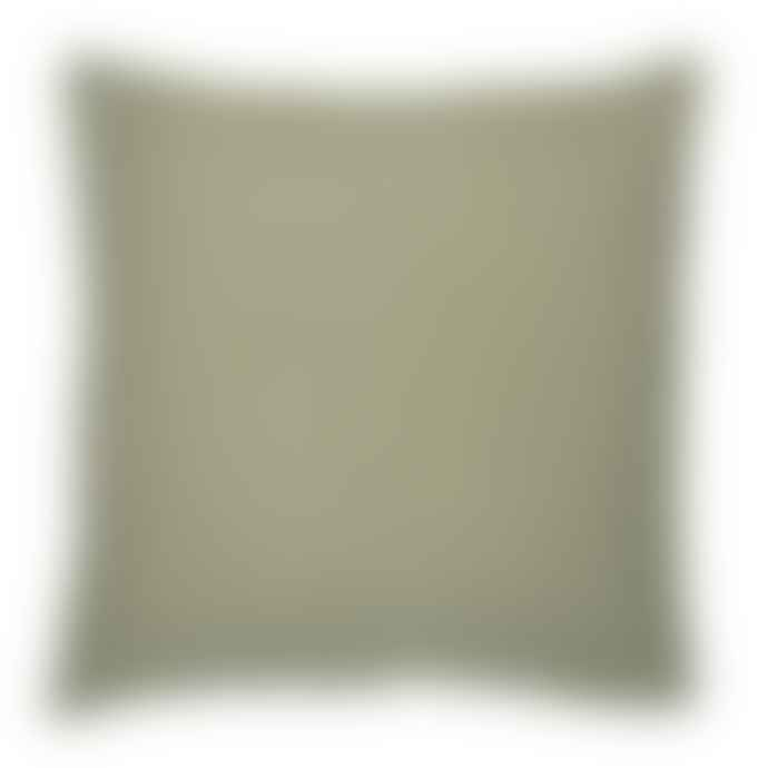Ib Laursen Olive Linen Square Cushion
