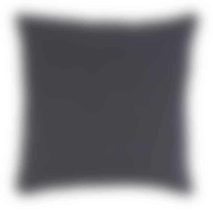 Ib Laursen Midnight Blue Linen Square Cushion