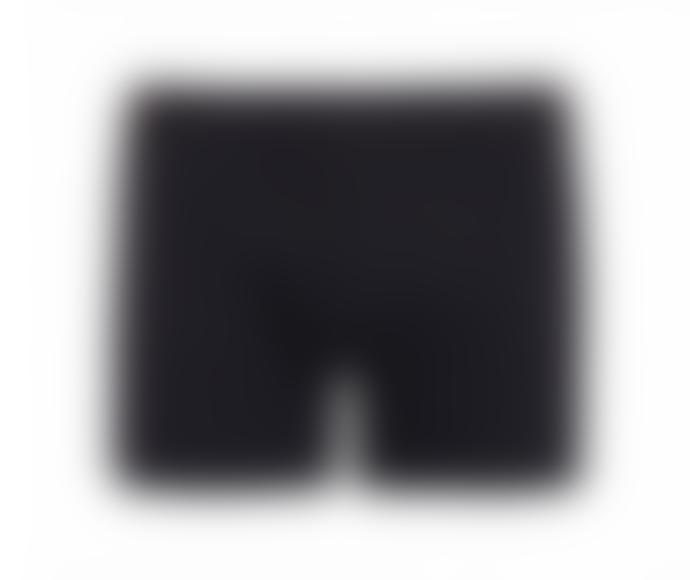 Colorful Standard Boxer Uni Noir En Coton Bio Deep Black