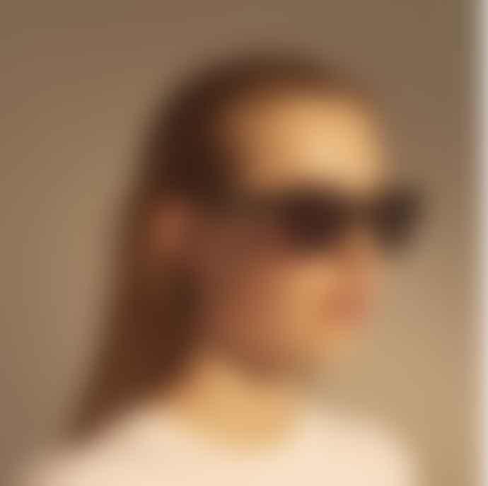 A.Kjaerbede  Stella Black Sunglasses