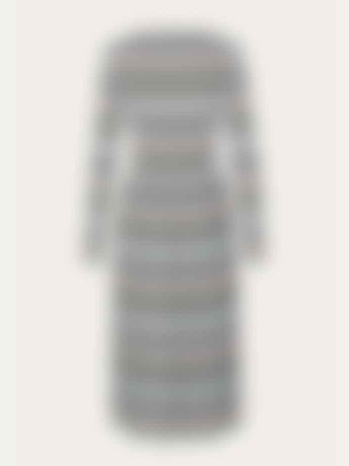 Stine Goya Multicolor Jersey Joel Stretch Stripes Midi Dress