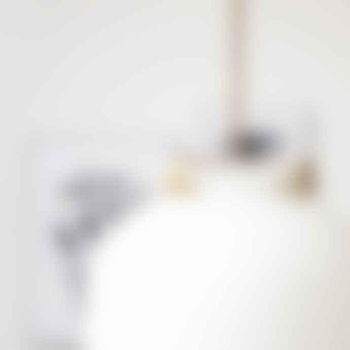 House Doctor White Ball Lamp
