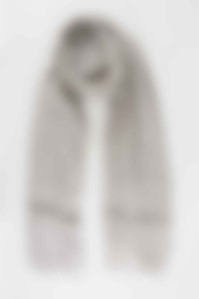 Hyde And Seek Light Grey Sequin Scarf