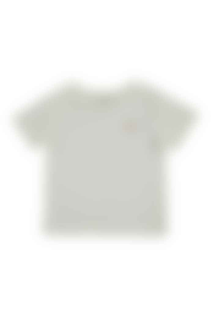 The New Society Logo T Shirt Off White
