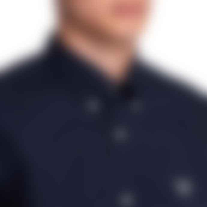 Barbour Beacon Short Sleeve Seathwaite Shirt Navy