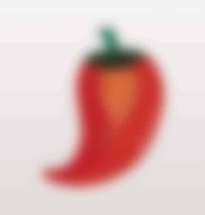 &klevering Red Chilli Pepper Bowl