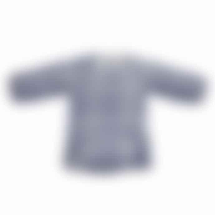 Riffle Dress Stripe Indigo