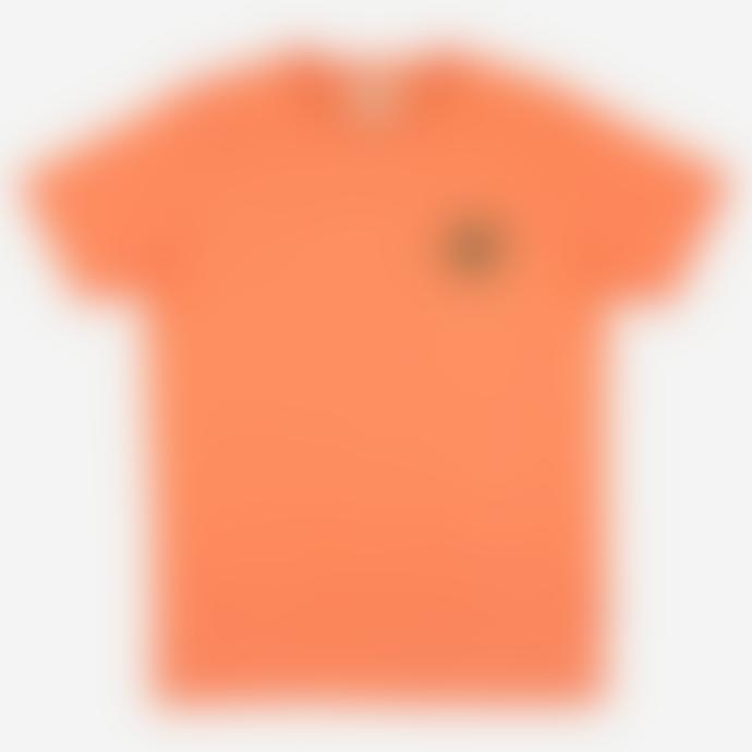 Castart Arran Starfish Embroidered T Shirt Melon