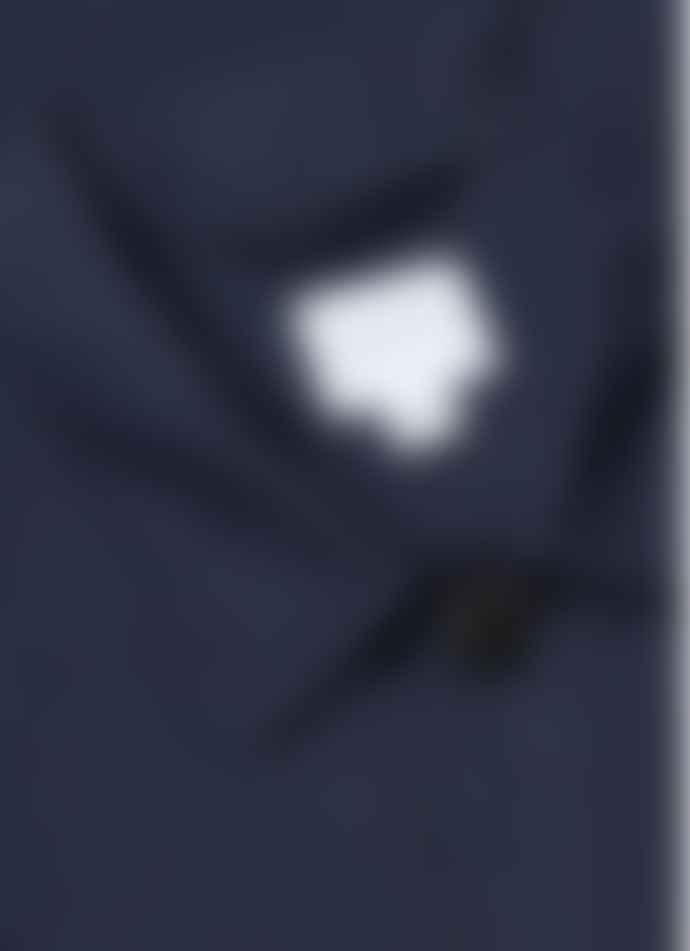 Sunspel Mens Cotton Linen Twin Pocket Jacket Navy