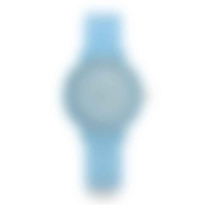Anaii Blue Rubber Strap Art Design Watch
