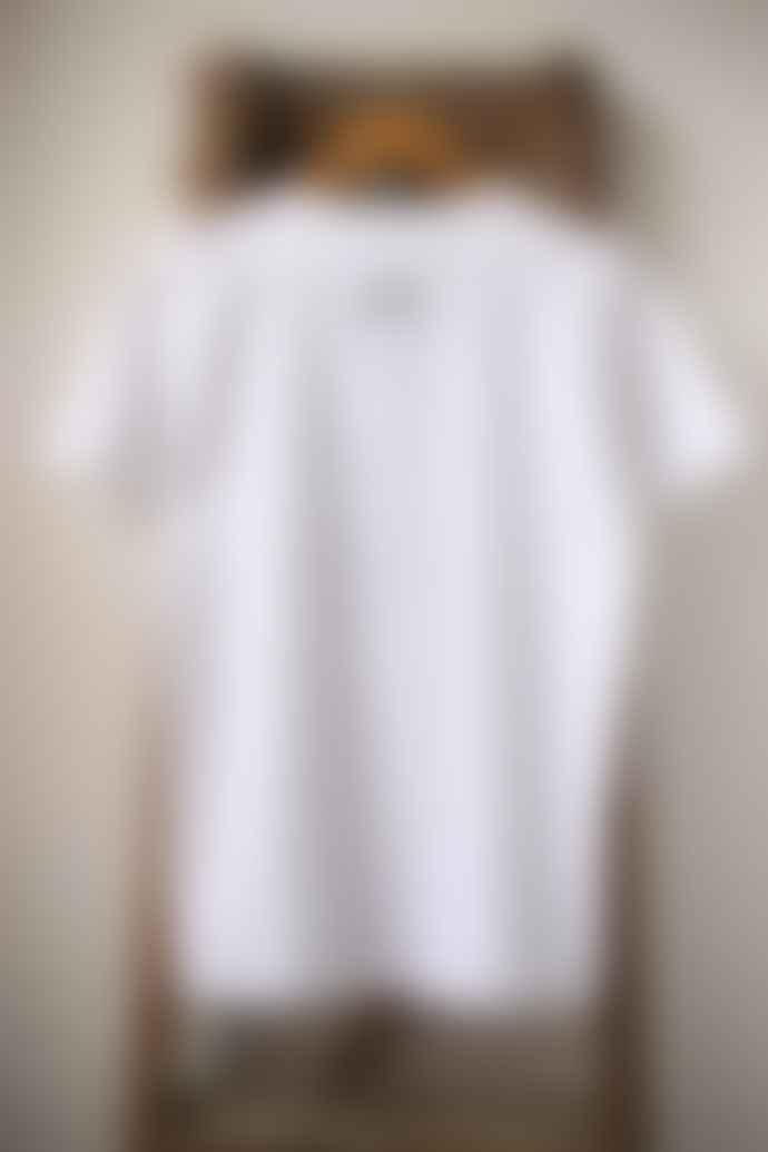 Bella Freud  I Hate It Boy Cut White T Shirt