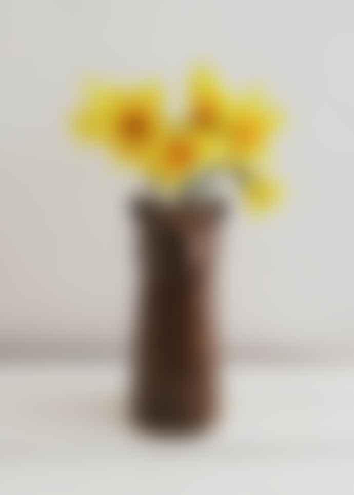 Quail Ceramics Leopard Vase by Quail Ceramics
