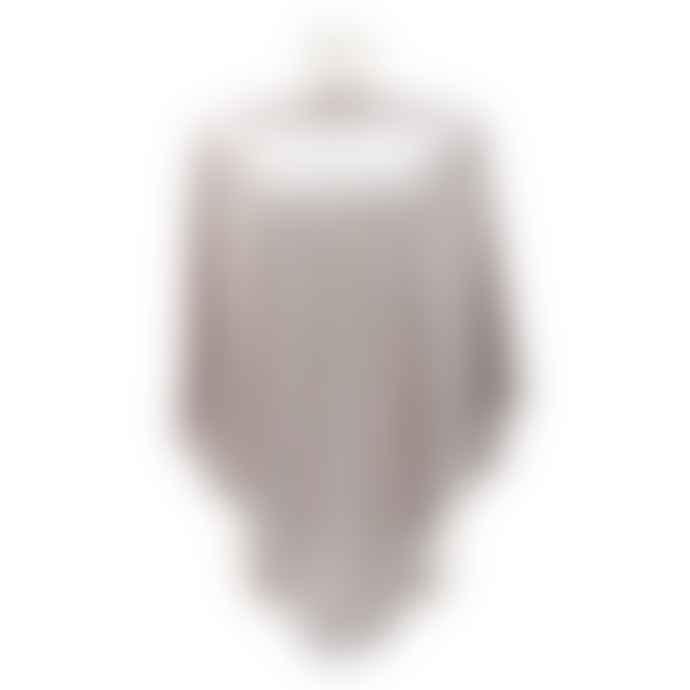 Pure Fashions Light Grey Wrap Poncho