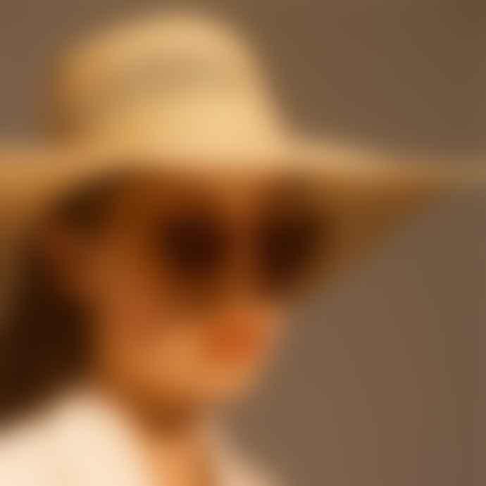 A Kjærbede Stella Light Brown Transparent Spectacle