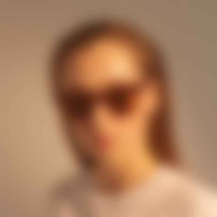 A Kjærbede Nancy Demi Brown Spectacle