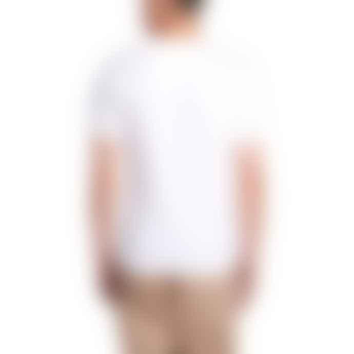Barbour Beacon Box Logo T Shirt White