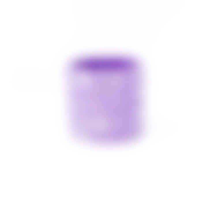 Salt Studios Purple & White Terrazzo Pot Large