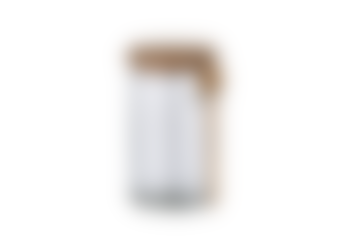 Nkuku Kossi Glass Storage Jar Small