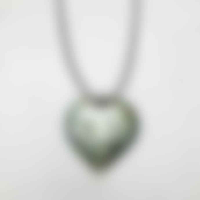 Lotusfeet Shell Heart Necklace