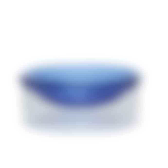 Hubsch Bowl Clear Blue