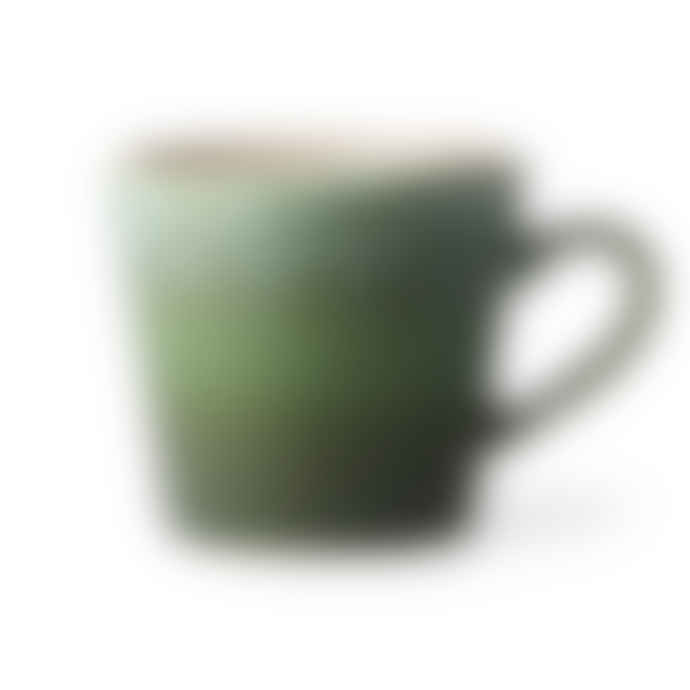 HKliving 70s Cappuccino Mug Grass
