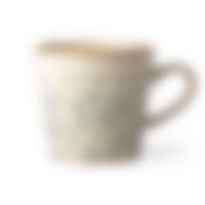 HKliving 70s Cappuccino Mug Hail