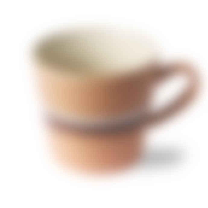 HKliving 70s Cappuccino Mug Stream