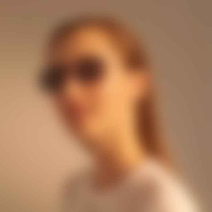 A Kjærbede Toby Black Sunglasses