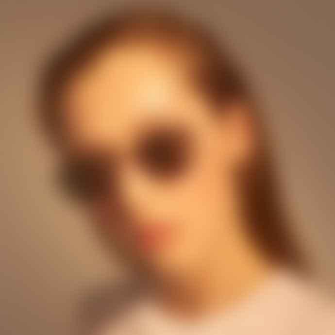 A Kjærbede Toby Gold Sunglasses