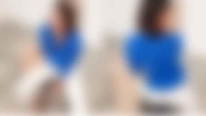 Tinsels Klein Blue Mirtha Shirt