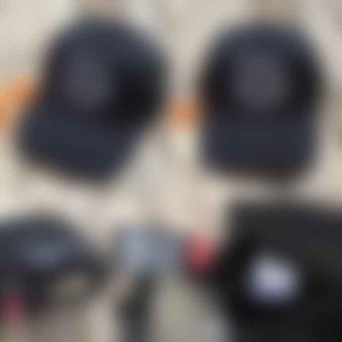 Deus Ex Machina Black Circle Logo Trucker Cap