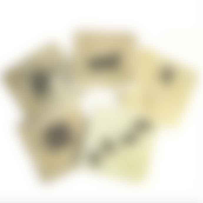 Jenny Blanc Marble Turtle Coaster Set of 6