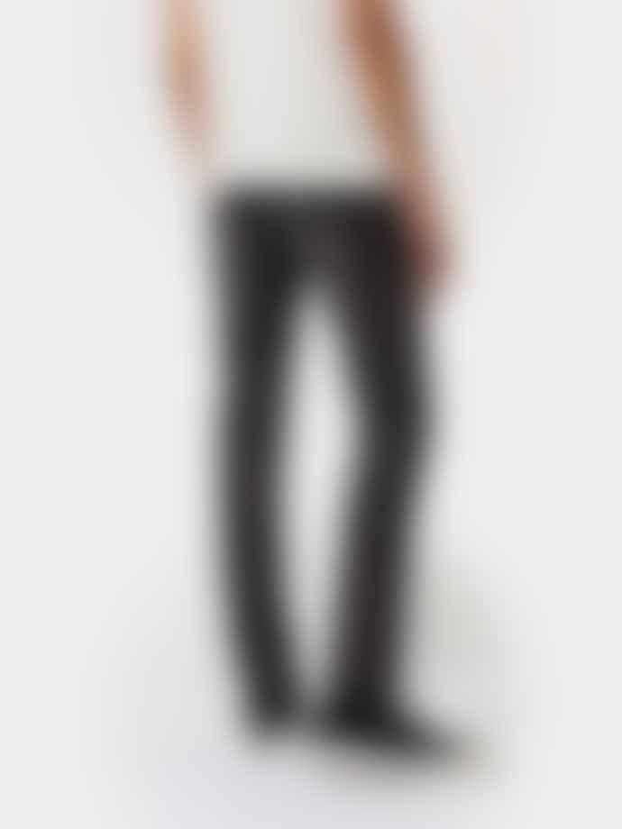 Nudie Jeans Grim Tim Concrete Black Jeans