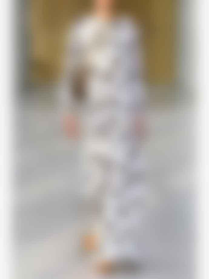 Samsoe Samsoe Kaia Long Dress Lovebirds