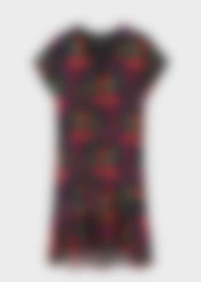Paul Smith Floral Ruffle Print Earthling Dress