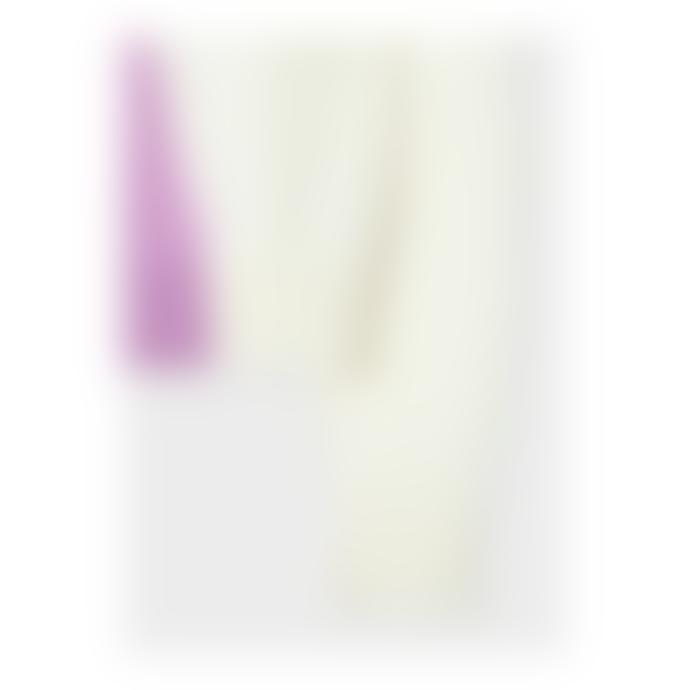 Paul Smith White Colour Block Cotton Blend Sweater