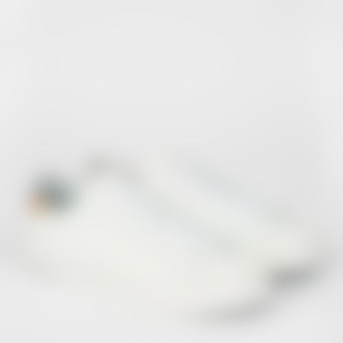 Paul Smith White Swirl Print Trim Pidgen Trainers Shoes